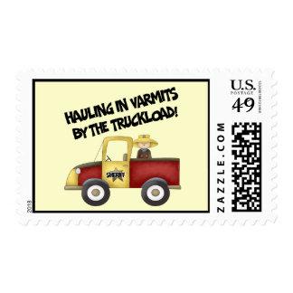 Little Sheriff Stamp