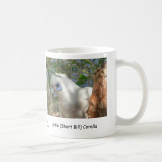 Little (Short Bill) Corella Coffee Mug