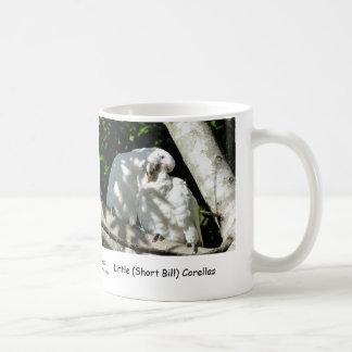 Little (Short Bill) Corellas Coffee Mug