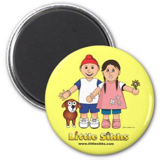 Little Sikhs Magnet