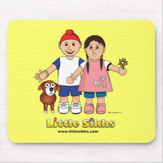 Little Sikhs Mouse Pad