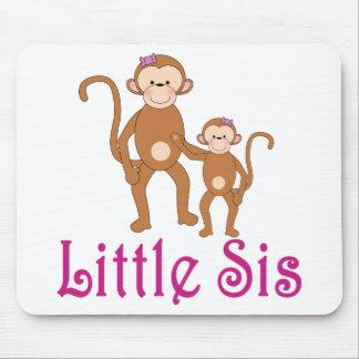 Little Sis Cute Monkeys Mouse Pad