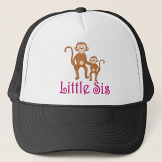 Little Sis Cute Monkeys.png Trucker Hat
