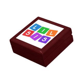 Little Sis gift / jewelry box