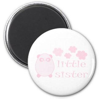 Little Sister baby pink cute design! Magnet