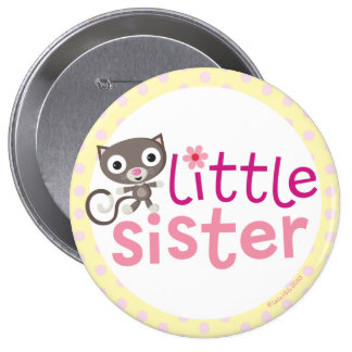 little Sister Badge/Button Pinback Button