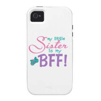 Little Sister BFF Butterfly iPhone 4 Case