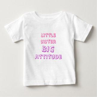 little sister, big attitude baby T-Shirt