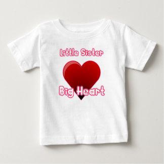 Little Sister, Big Heart Baby T-Shirt