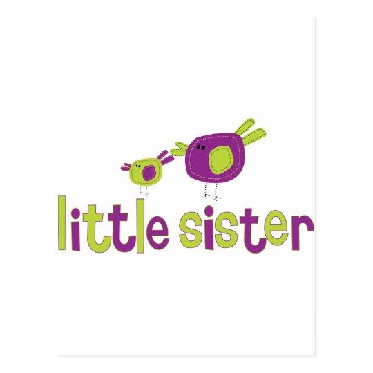 Little Sister Birdies T-shirt Postcard