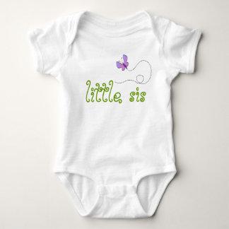 little sister butterfly infant creeper