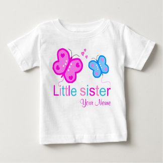Little Sister Butterfly Personalized T shirt