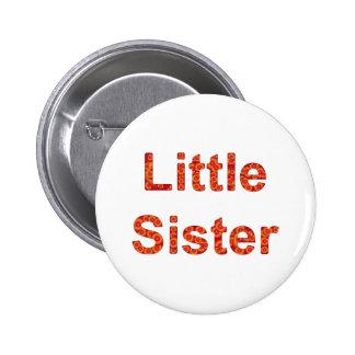Little Sister Design 2 Pinback Button