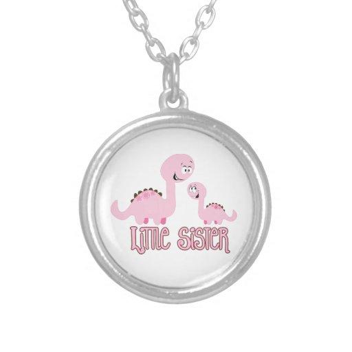 Little Sister Dinosaur Pendants