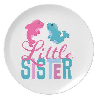 Little Sister Dolphins Dinner Plates