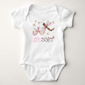 Little Sister Dragonfly Baby Bodysuit