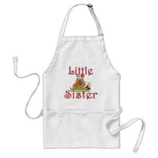 Little Sister Fluffy Pup 1 Adult Apron