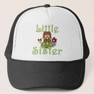 Little Sister Fluffy Pup 2 Trucker Hat