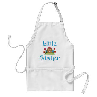 Little Sister Fluffy Pup 5 Adult Apron