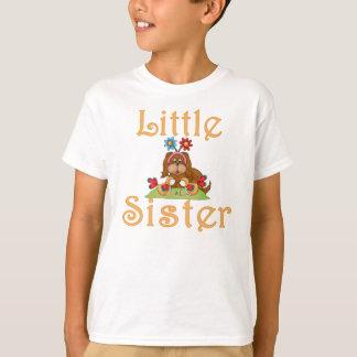 Little Sister Fluffy Pup 6 T-Shirt