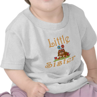 Little Sister Fluffy Pup 6 Tee Shirts