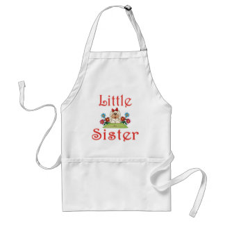 Little Sister Fluffy Pup 7 Adult Apron