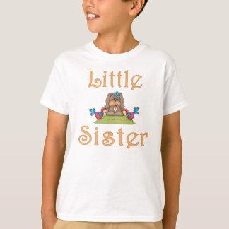 Little Sister Fluffy Pup 8 T-Shirt