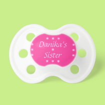 Little Sister Pacifier Design