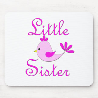Little Sister Pink Bird Mouse Pad