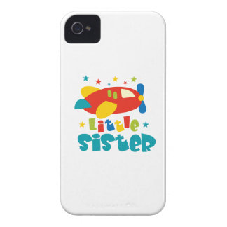 Little Sister Plane iPhone 4 Cases