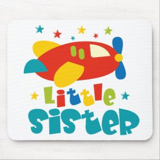 Little Sister Plane Mouse Pad