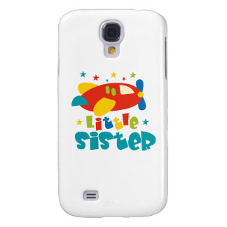 Little Sister Plane Samsung Galaxy S4 Cover