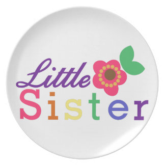 Little Sister Party Plate
