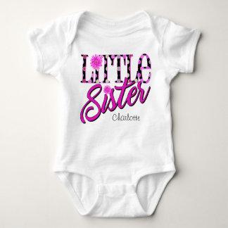 Little Sister Polka Dots Baby Bodysuit