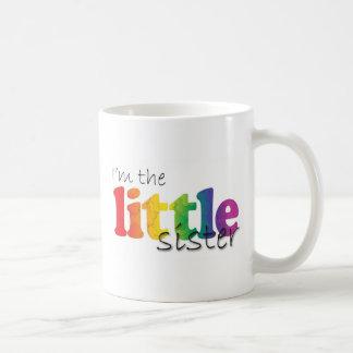 Little Sister - rainbow flowers Classic White Coffee Mug