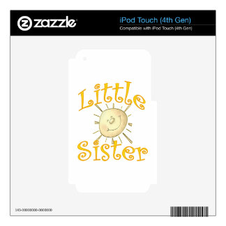 Little Sister Sunshine Smile iPod Touch 4G Skins