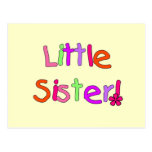 Little Sister T-shirts and Gifts Post Cards