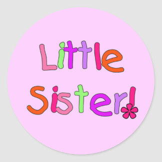 Little Sister T-shirts and Gifts Stickers