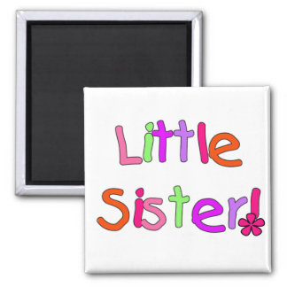 Little Sister Tshirts and Gifts Magnets