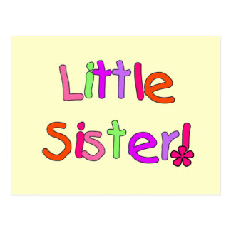 Little Sister Tshirts and Gifts Postcard
