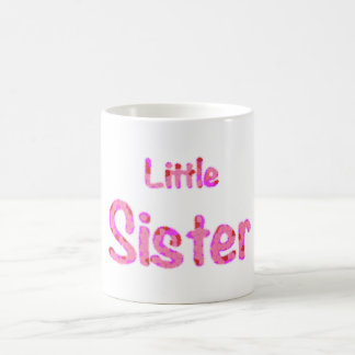 Little Sister Typography Classic White Coffee Mug