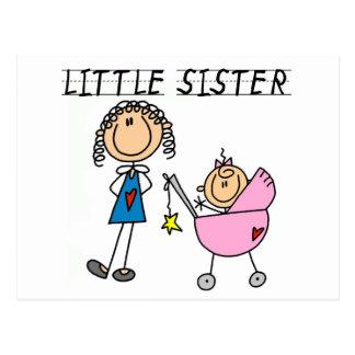 Little Sister With Big Sis Tshirts Postcard