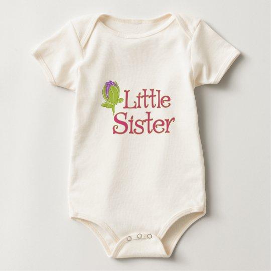 Little Sister with Purple Dahlia Bud shirt