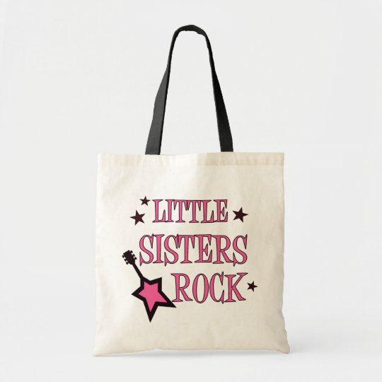 Little Sisters Rock Tote Bag