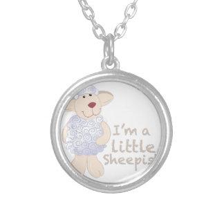 Little Skeepish Round Pendant Necklace