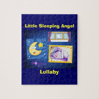 Little Sleeping Angel Photo Puzzle with Gift Box