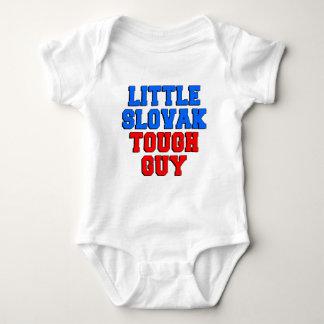 Little Slovak Tough Guy Baby Bodysuit