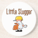 Little Slugger Baseball T-shirts and Gifts Coasters
