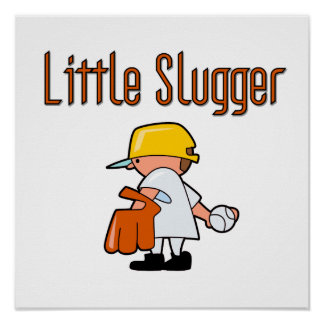 Little Slugger Baseball T-shirts and Gifts Poster