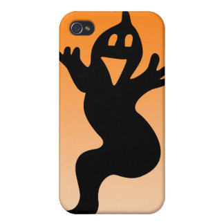 Little smiling ghost iPhone 4/4S cover